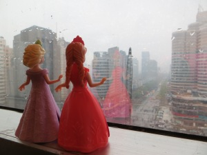 2 Anna & Elsa contemplate weather