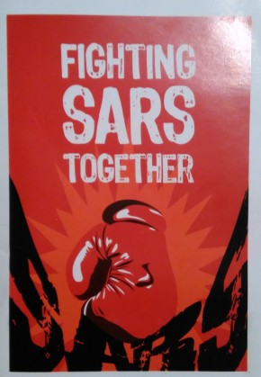 8. Fight SARS together brochure