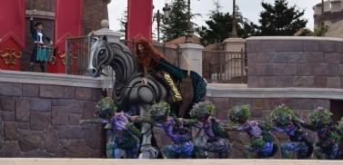 Merida impresses in the Fairytale Fanfare