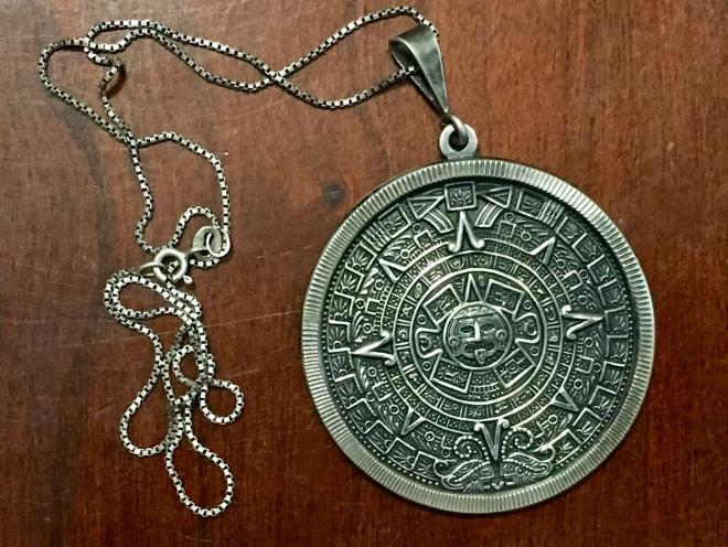 Mexican medallion