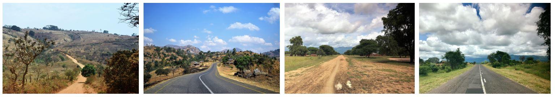 A. Roads