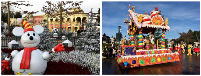 2 Disney Paris in Winter