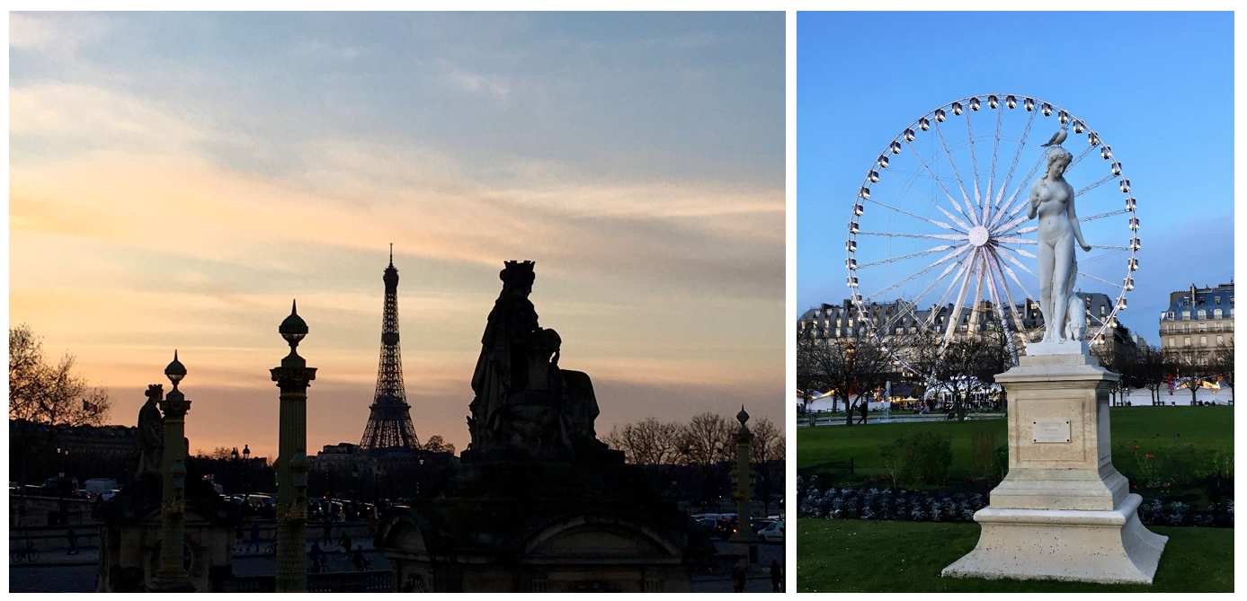 4 Beautiful Paris evening